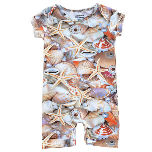 Short Romper - Seashells