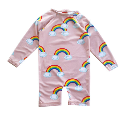 Rash Guard - Pink Rainbows