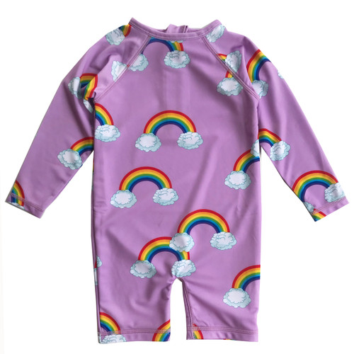 Rash Guard - Purple Rainbows