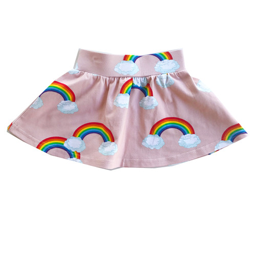 Skirt - Pink Rainbows