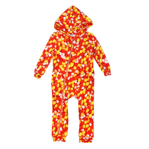 Zipper Hooded Spacesuit - Corn Candy