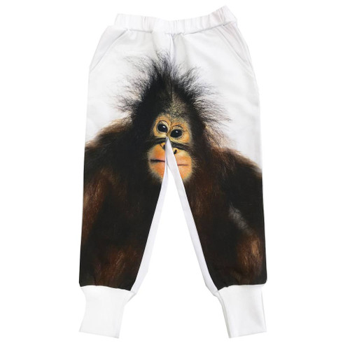 Long Cuff Sweatpants - Orangutan