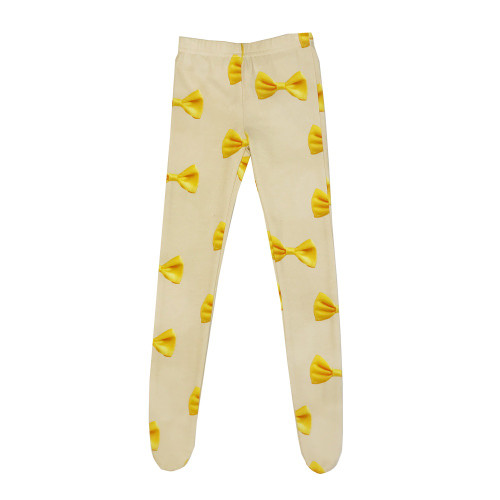 Tights - Bows-Yellow