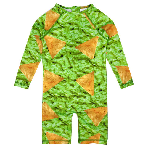Rash Guard - Chips/Guacamole