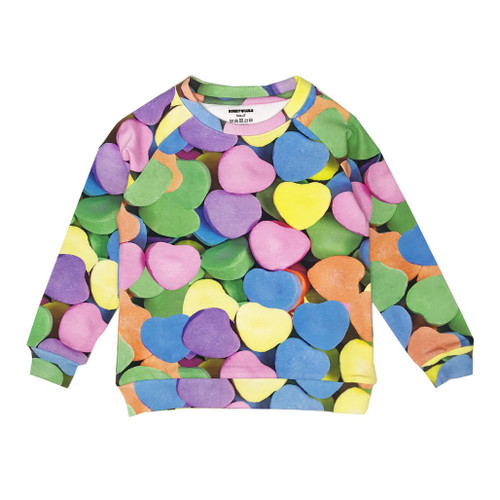 Sweatshirt - Candy Hearts