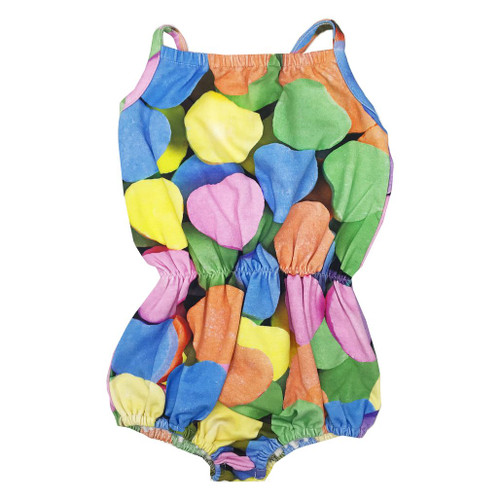 Bubble Romper - Candy Hearts