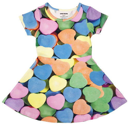Skater Dress - Candy Hearts