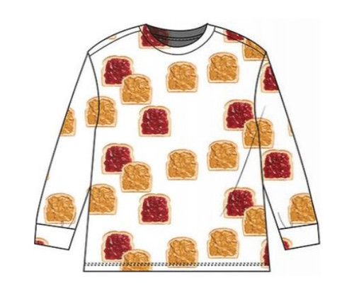 Long Sleeve T Shirt - PB&J