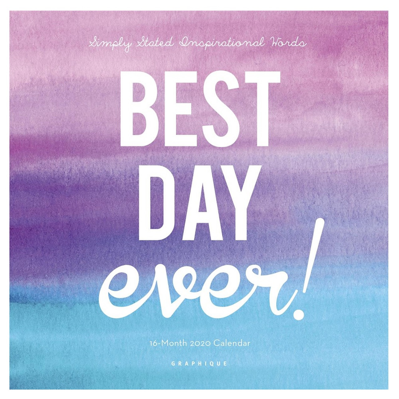 Best Wall Calendars 2020 Best Day Ever Mini Wall Calendar 2020   Detroit Institute of Arts