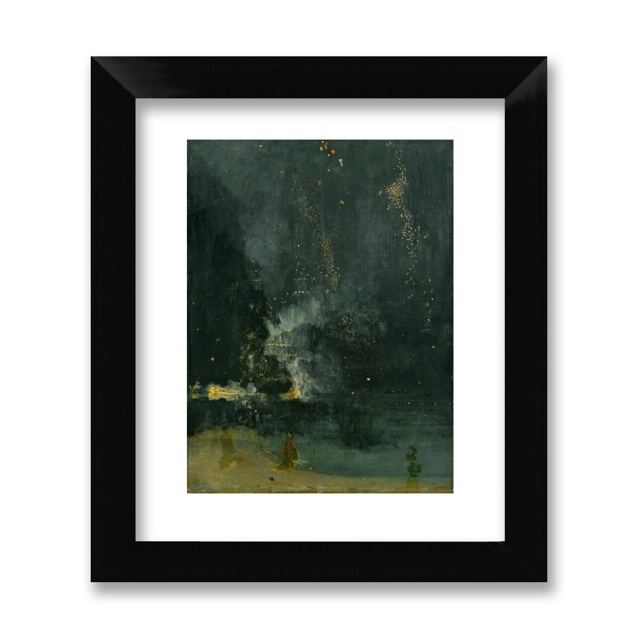 Nocturne In Black And Gold Whistler 11 X 14 Print Detroit Institute Of Arts Museum Shop