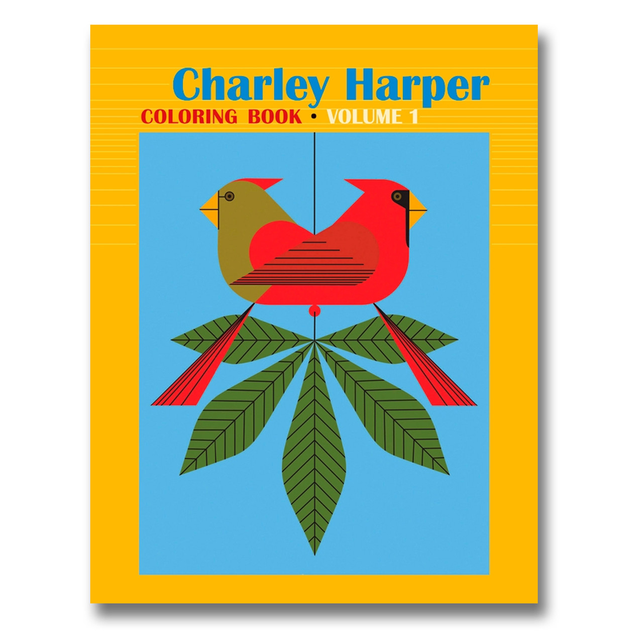 Charley Harper Coloring Book - Volume I