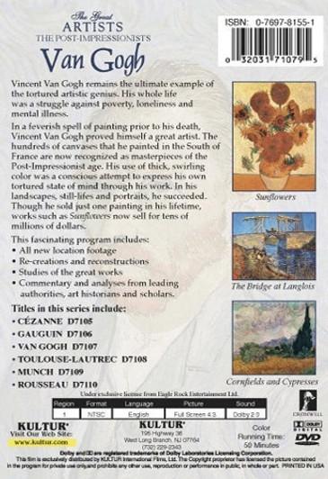 Postcard Book Vincent van Gogh - Detroit Institute of Arts