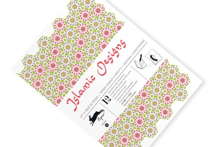 Islamic Designs Gift Wrap Book