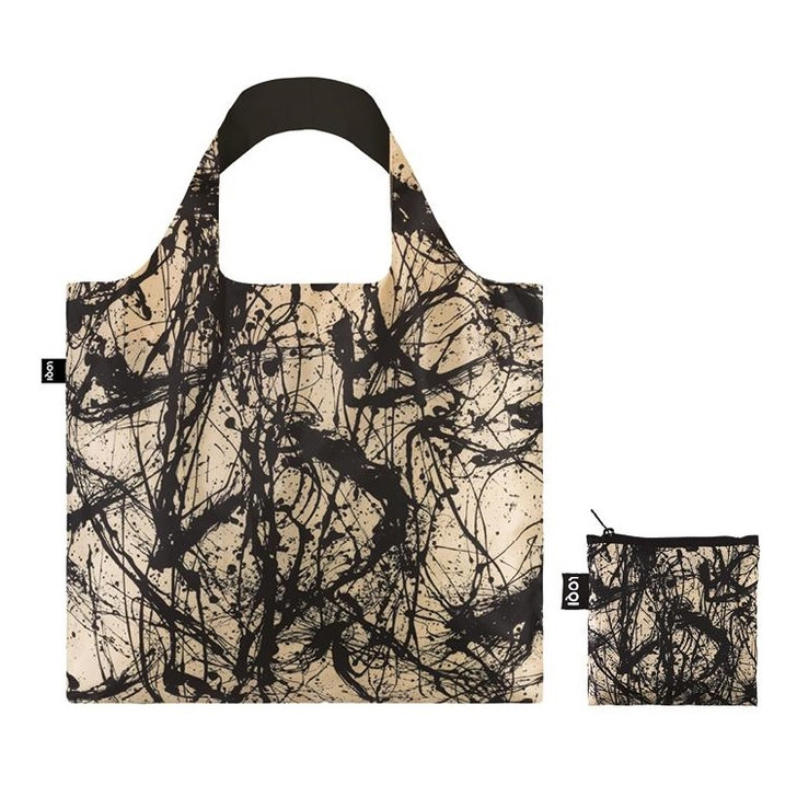 Number 32, Pollock Tote Bag with Pouch