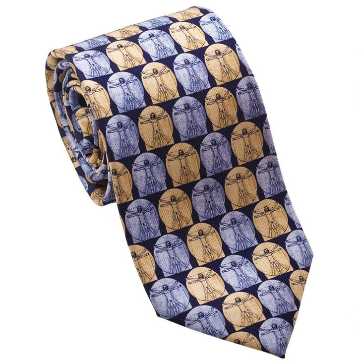 Da Vinci Silk Tie