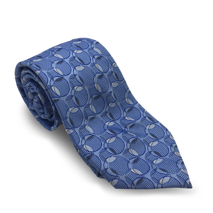 Frank Lloyd Wright Blue March Balloons Silk Tie