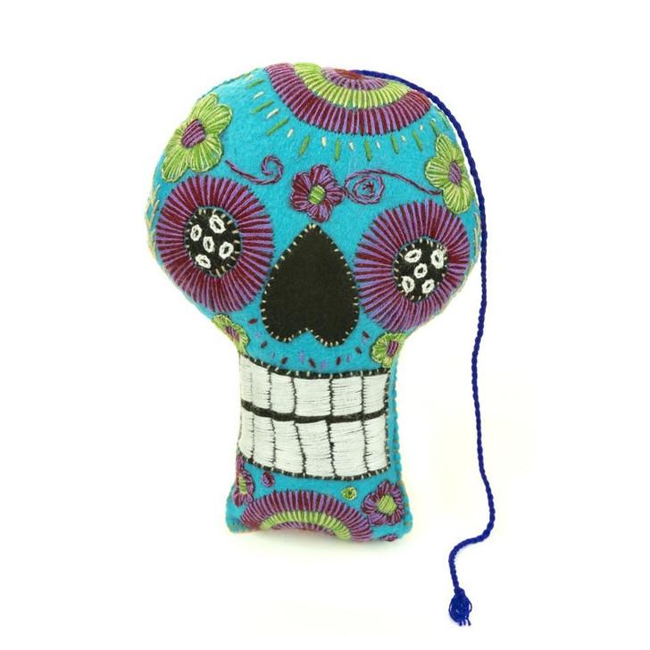 Sugar Skull Calavera Pillow