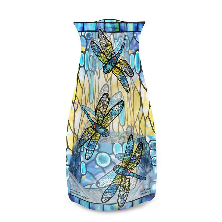 Dragonfly, Tiffany Expand Vase