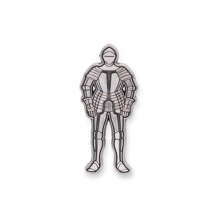 Tournament Armor Enamel Pin