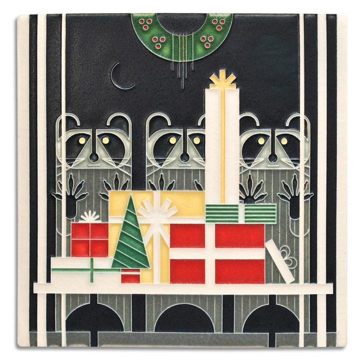 Motawi Tileworks Gift Rapt Tile 8x8