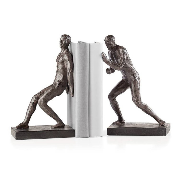 Athletic Men Bookends Set of 2