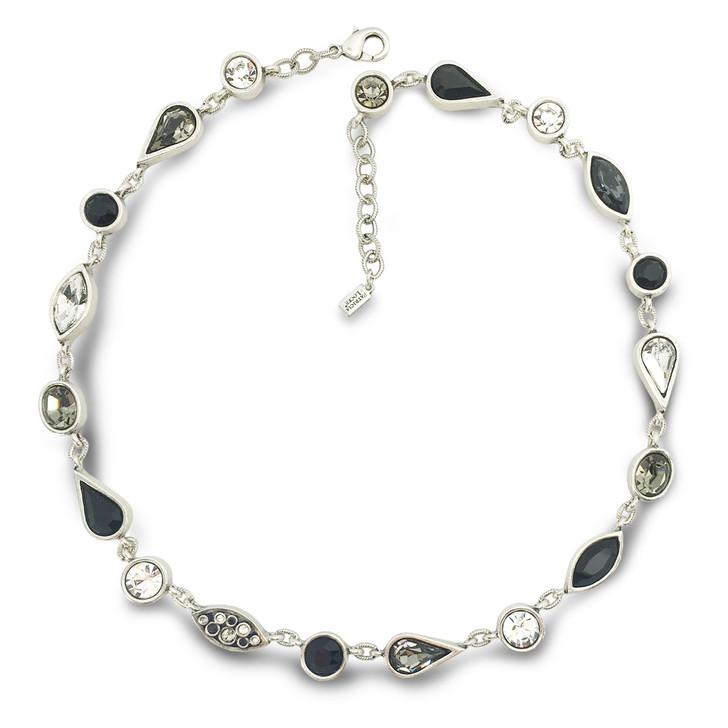Patricia Locke Black & White Couture Necklace