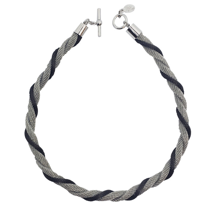 Mesh Twist Necklace