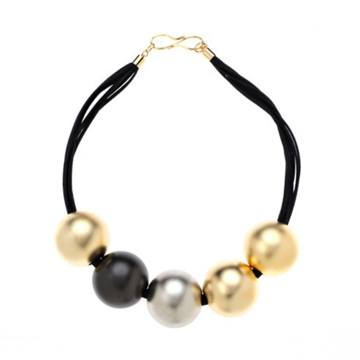 Large Multi Ball Necklace