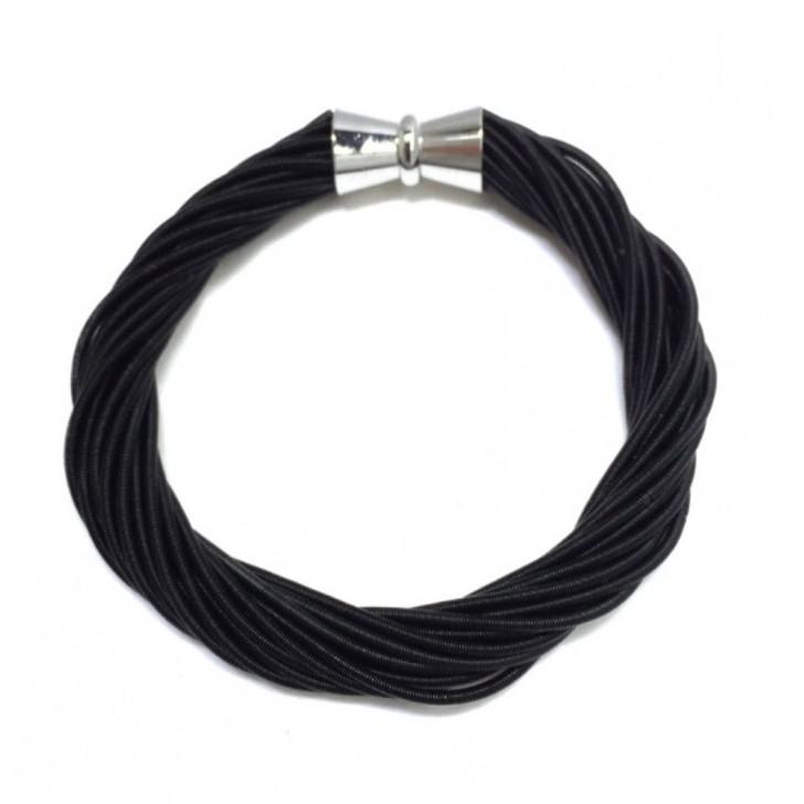 Black Twist Bracelet