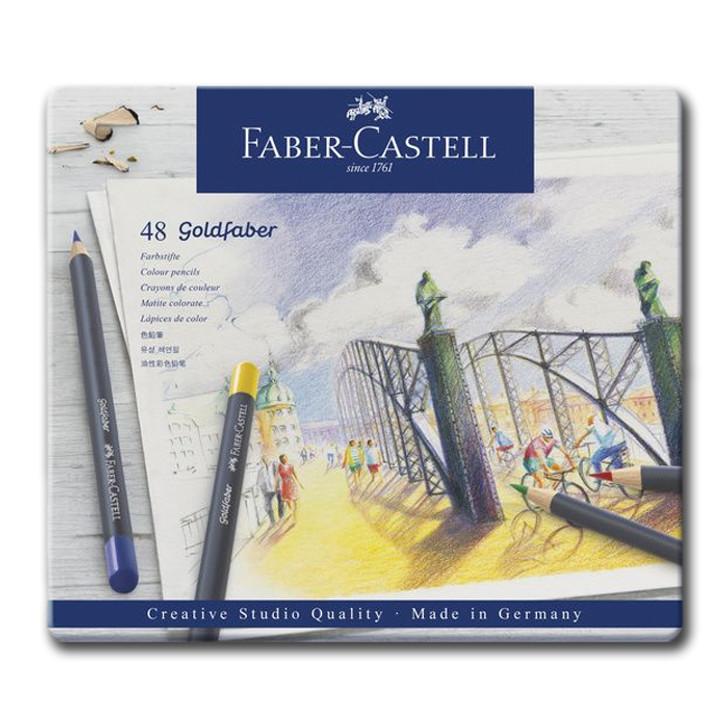 Premium Colored Pencil Tin- Set of 48