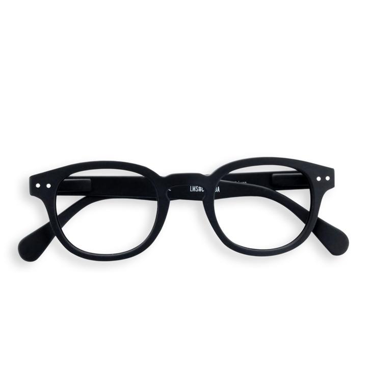 Black C Reading Glasses