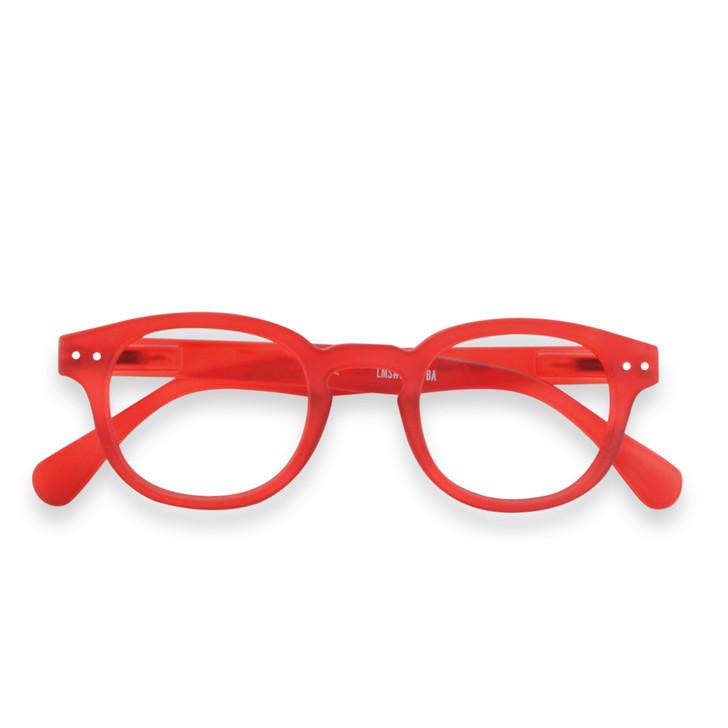 Red C Reading Glasses
