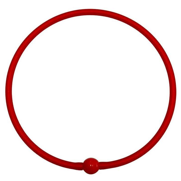 Tubino Necklace Red/Red Murano Glass Bead