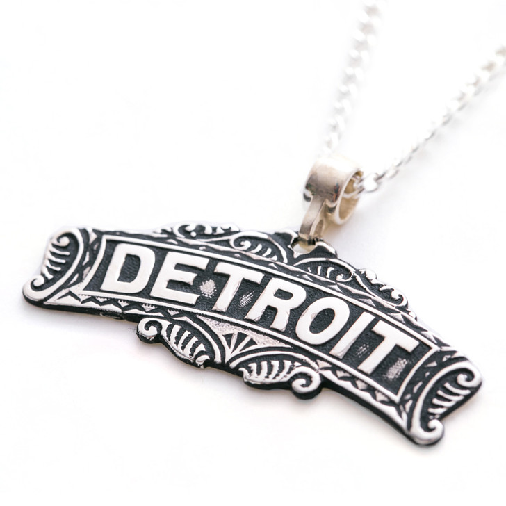 Detroit Pendant by Modern Made Vintage