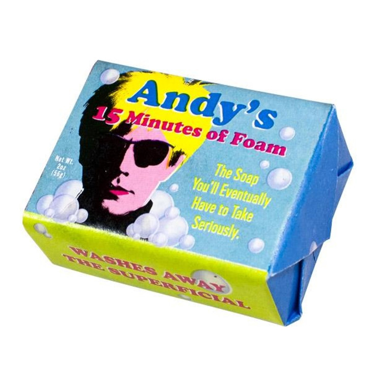 Andy's 15 Minutes Soap
