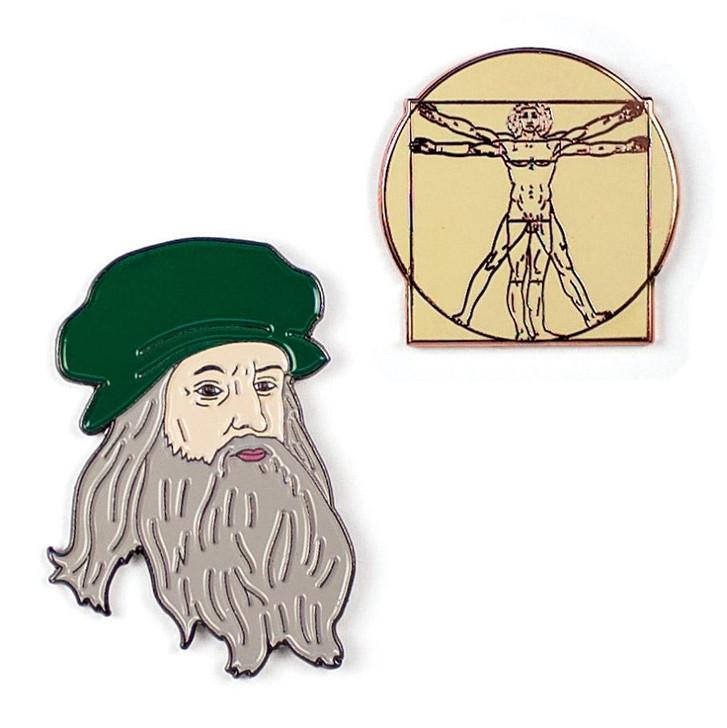 Leonardo Da Vinci Pin