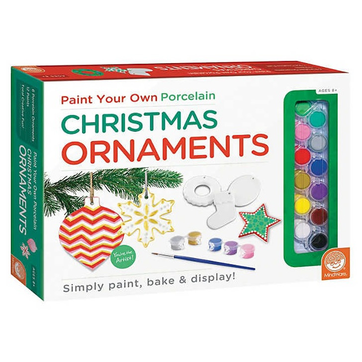 Paint Your Own: Christmas Ornaments