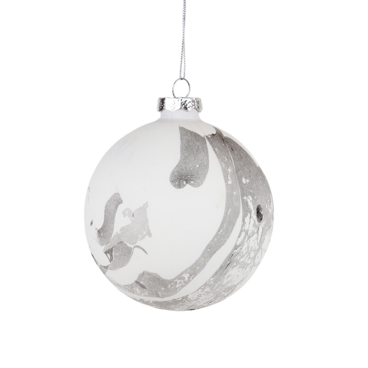 Medium Marble Ornament