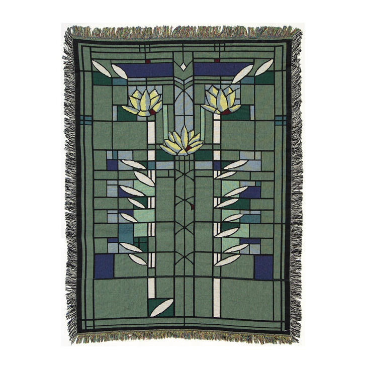 Frank Lloyd Wright Waterlilies Throw