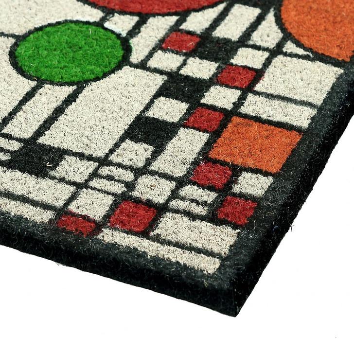 Frank Lloyd Wright Coonley Color Doormat