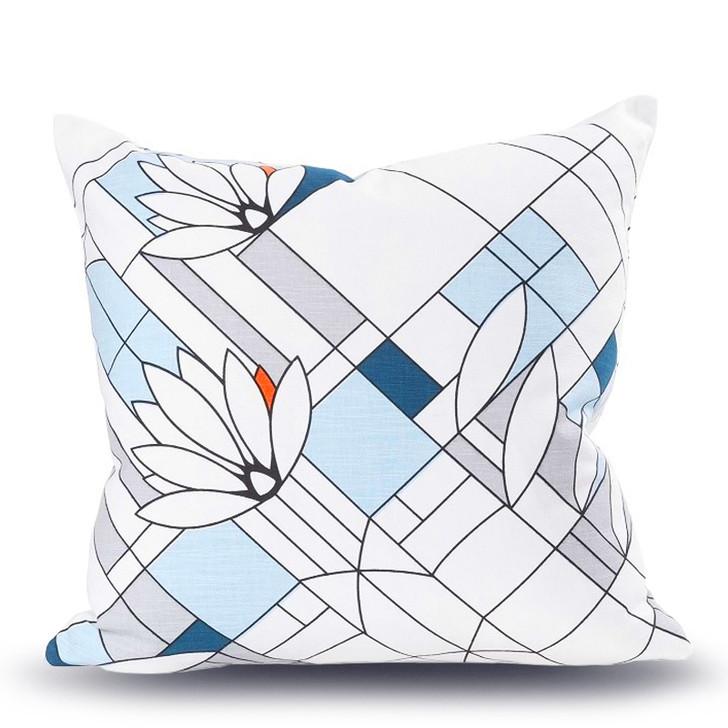 Frank Lloyd Wright Waterlilies Pillow