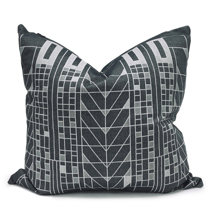 Frank Lloyd Wright Tree of Life Jacquard Pillow