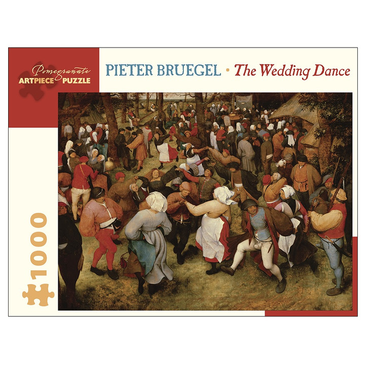 Wedding Dance, Bruegel Puzzle 1000 Piece