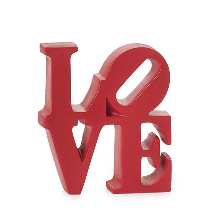 Love Word Art Sculpture