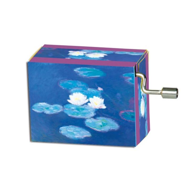 Water Lilies, Monet Music Box