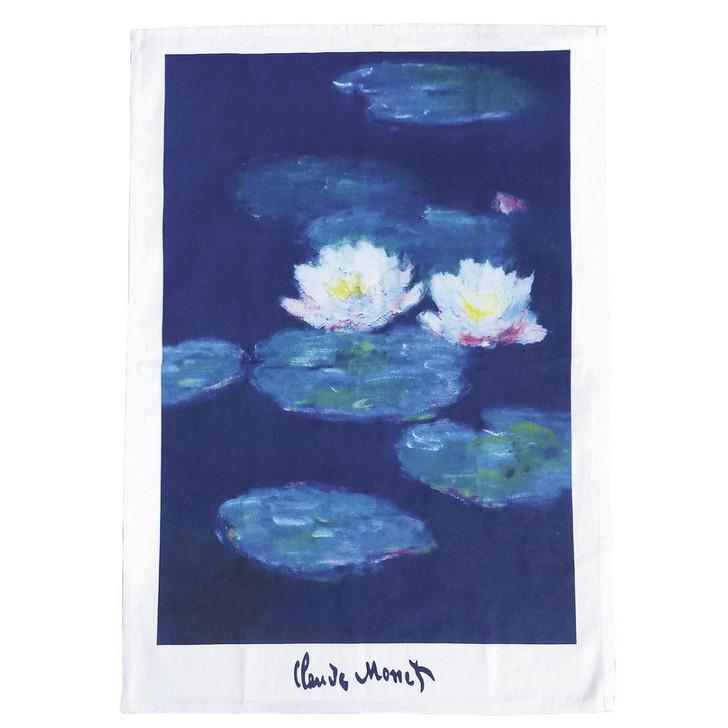 Water Lilies, Monet Tea Towel