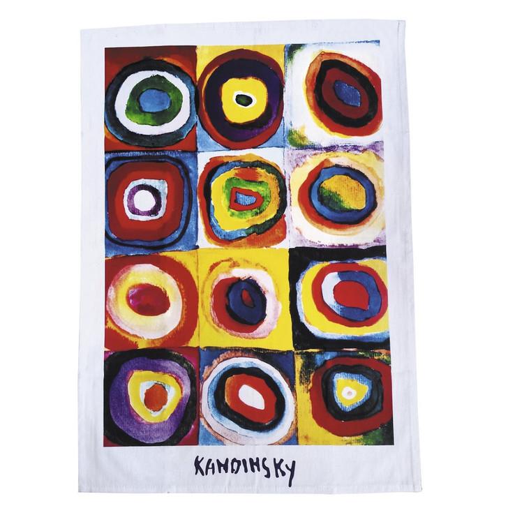 Color Study, Kandinsky Tea Towel