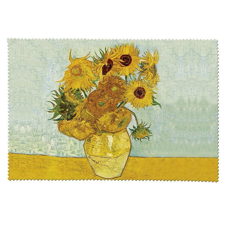 Sunflowers, Van Gogh Cleaning Cloth