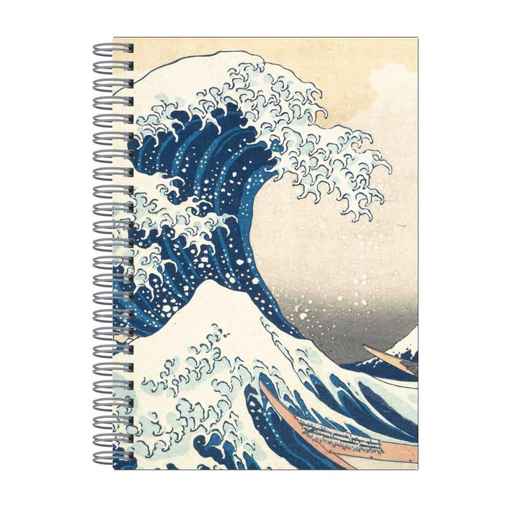 Great Wave, Hokusai Wire Journal
