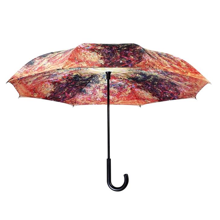 Artist's House from the Rose Garden, Monet Reverse Umbrella
